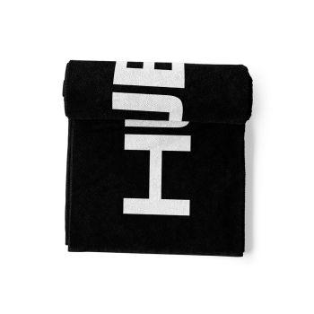 HUUB Cotton Towel 2 - schwarz/weiß