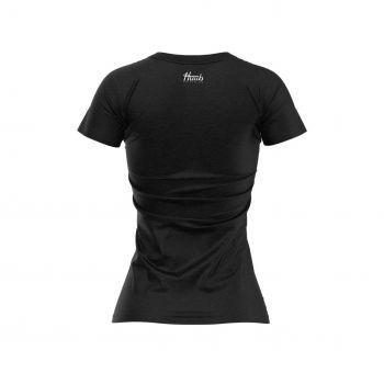 HUUB T-Shirt Script Logo Damen