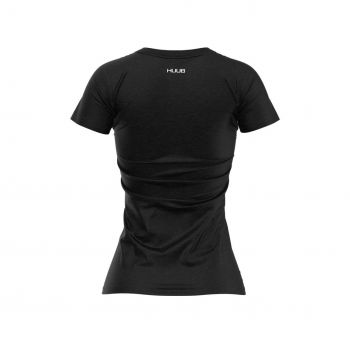 HUUB T-Shirt Statement Logo Damen
