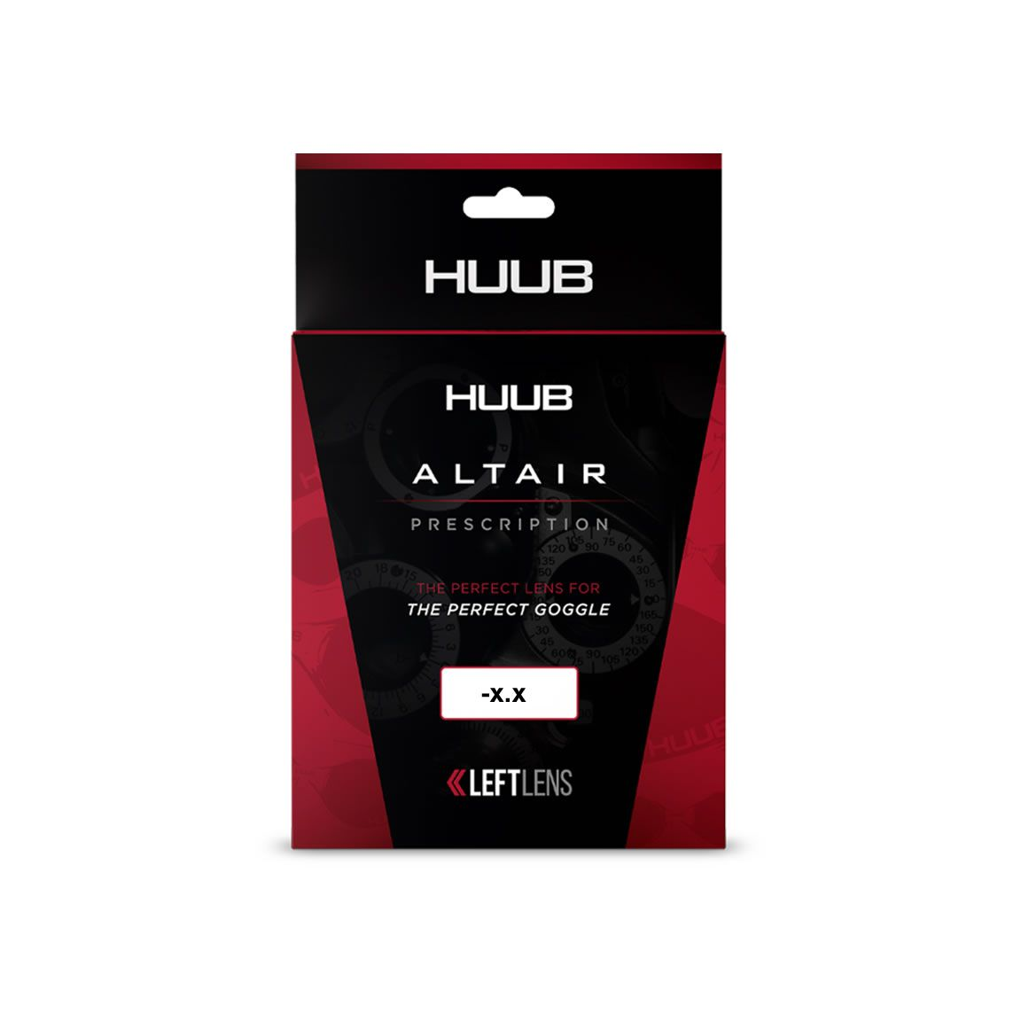 HUUB Altair Schwimmbrillen-Gläser- Links -3.5